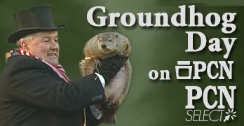 Groundhog Day from Punxsutawney, PA