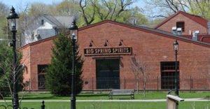 The exterior of Big Springs Spirits
