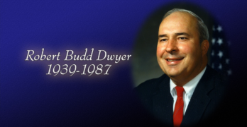 30th Year Remembrance of Budd Dwyer Suicide, Sunday at 3, 5, & 9 pm