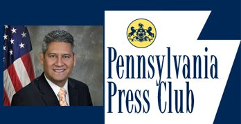 PA Press Club with PA Sec. of the Commonwealth Pedro Cortes, LIVE Monday at 12:30 pm