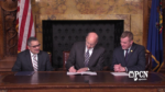 Lobbyist Disclosure Act Penalties Bill Signing