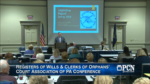 April 18: Registers of Wills & Clerks of Orphans' Court Association of PA Conference
