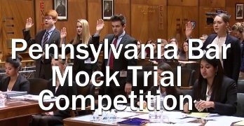 PA Bar Association Statewide High School Mock Trial Competition
