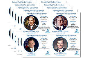 PA Governors Baseball Cards