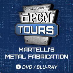 2016 PCN Tours: Martelli's Metal Fabrication