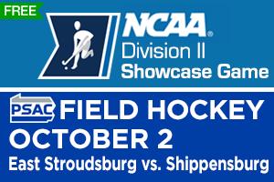 NCAA DII Showcase Game – PSAC Field Hockey: East Stroudsburg vs. Shippensburg