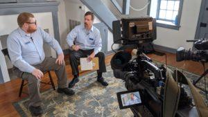 The Gettysburg Podcast hosts Jim Hessler and Eric Lindblade