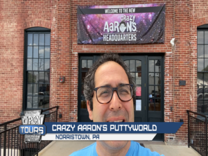 Aaron Muderick, Founder and Executive Chairman of Crazy Aaron's Puttyworld