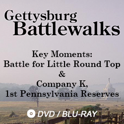 Gettysburg Battlewalk Key Moments: battle for little round top & company k, first PA reserves