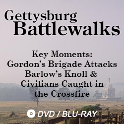 gettysburg battlewalks key moments: Gordon's Brigade Attacks Barlow's Knoll & Civilians Caught in the Crossfire