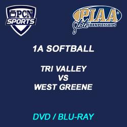1a softball championship dvd and blu-ray. tri valley vs west greene.