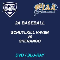 2a baseball dvd and blu-ray. Schuylkill Haven vs. Shenango (New Castle) the 2021 PIAA 2A Baseball Championship