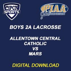 Boys 2a lacrosse digital download. allentown central catholic vs. mars