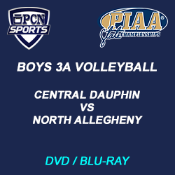 boys 3A Volleyball dvd and blu-ray. Central dauphin vs. north allegheny