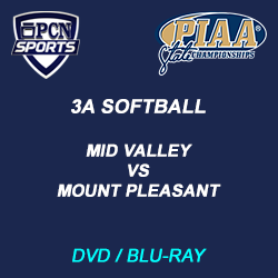 3a baseball championship dvd and blu-ray. mid valley vs mount pleasant.
