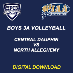 boys 3a volleyball championship. central dauphin vs. north allegheny