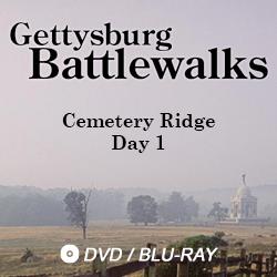 Battle of Gettysburg. Cemetery Ridge Day 1. Dvd and Blu-Ray