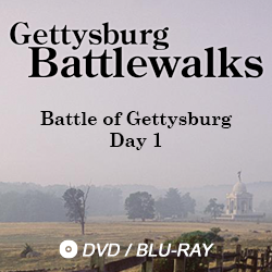 Battle of Gettysburg Day 1. DVD and Blu-Ray